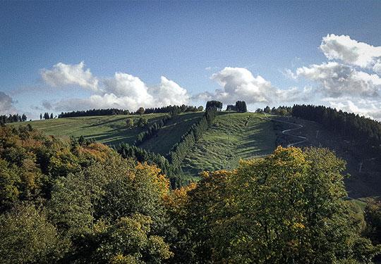 Mountainbike- und Outdoor-Sport-Unterkunft Harz-BnB Werkmeister - Ausblick Balkon