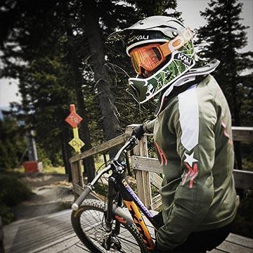 MTB-Girl-Downhill - Bikepark-Braunlage-Harz