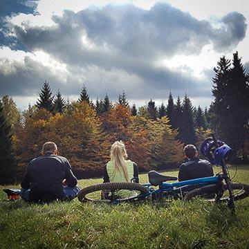 Harz - Biken im Herbst