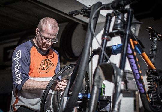 Mountainbike- und Outdoor-Sport-Unterkunft Harz-BnB Werkmeister - Bikegarage und Werkstatt