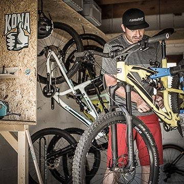 Bikewerkstatt - Mountainbike- und Outdoor-Sport-Unterkunft Harz-BnB Werkmeister