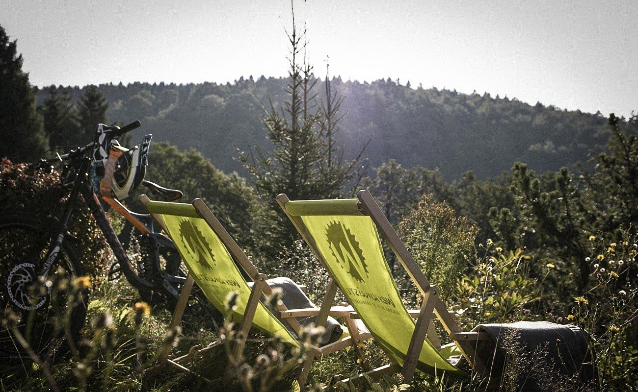 Mountainbike- und Outdoor-Sport-Unterkunft Harz-BnB Werkmeister - Relaxen im Garten