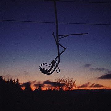MSB-X-Trail St. Andreasberg - Lift im Sonnenuntergang