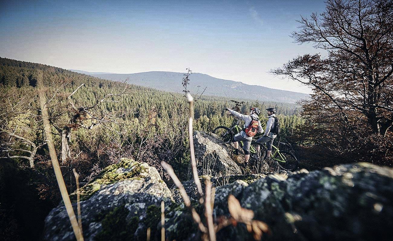 MTB-Tour im Harz