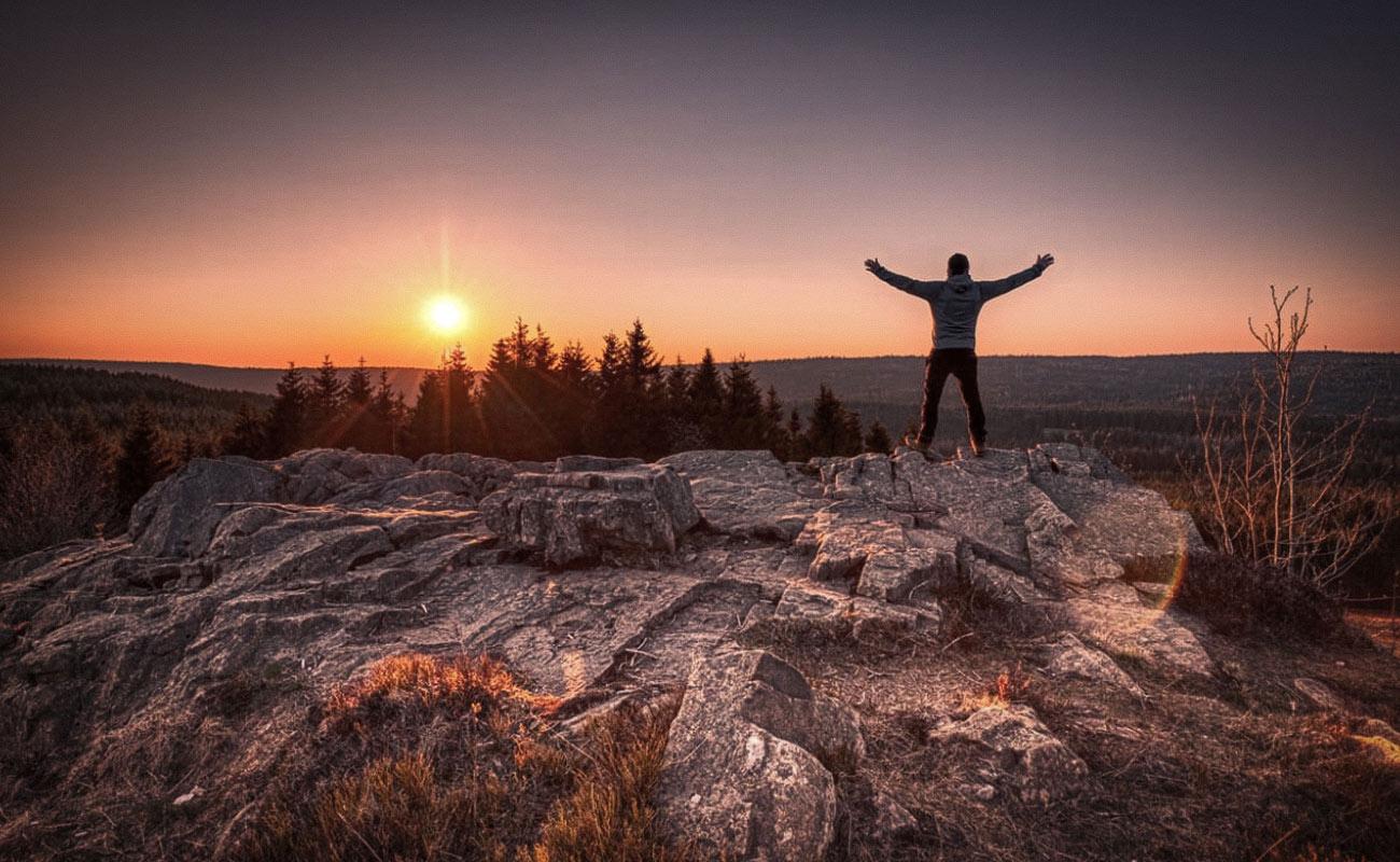 Sonnenuntergang auf dem Sonnenberg - St. Andreasberg - Harz -Fotograf Ronny Fleischer